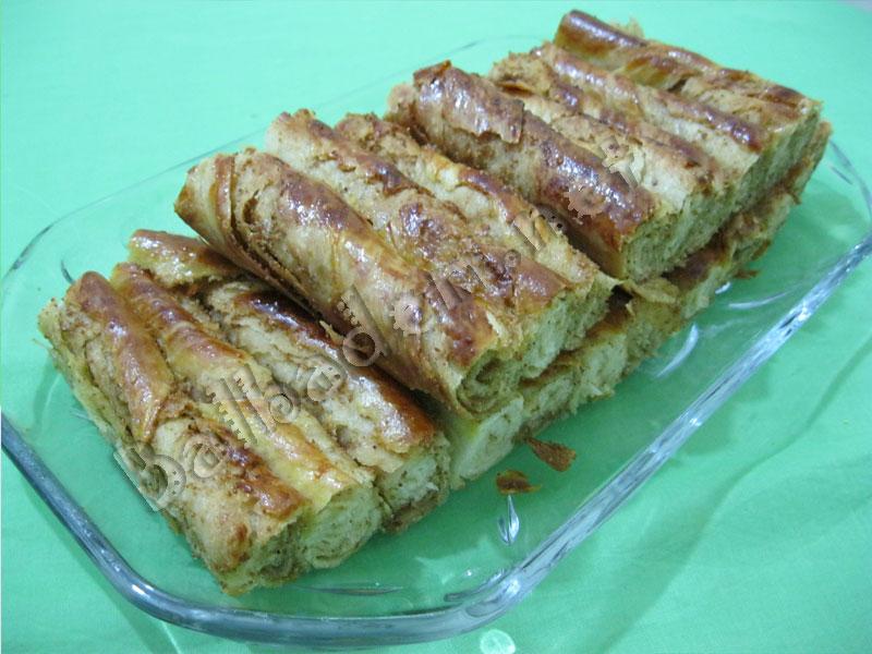Haşhaşlı Burma Börek