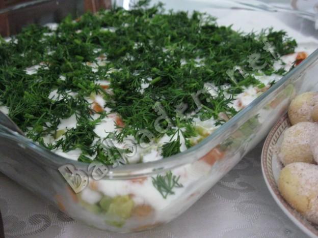 Etimekli Sebze Salatası