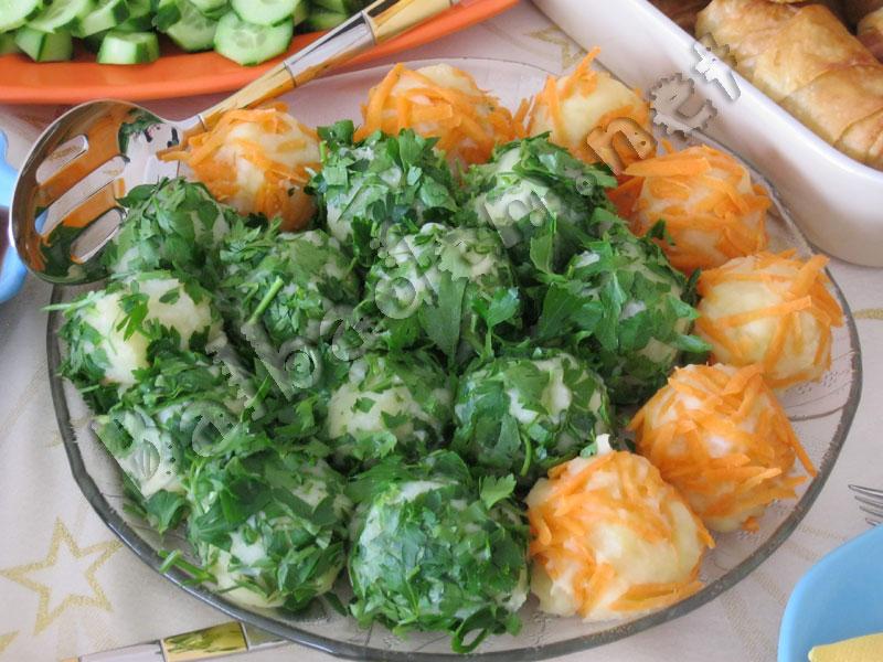 Karnıbaharlı Patates Topları
