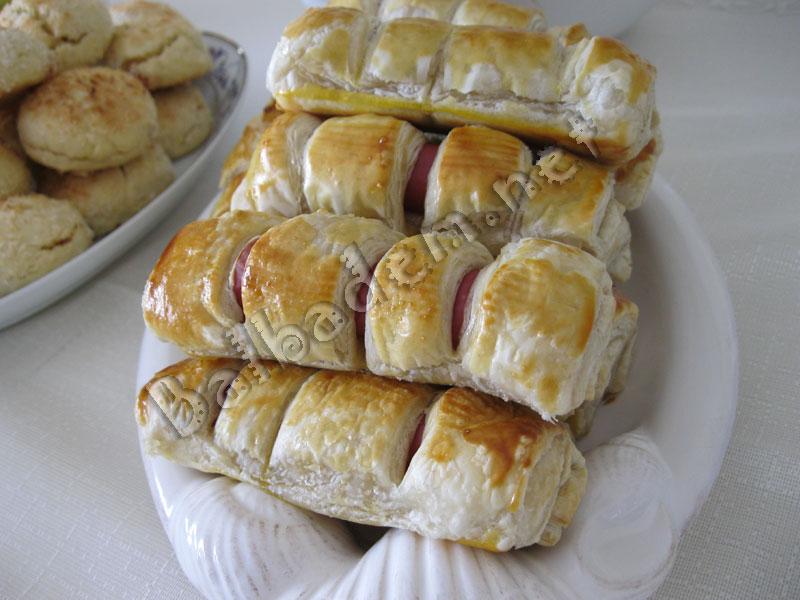 Sosisli Milföy Böreği