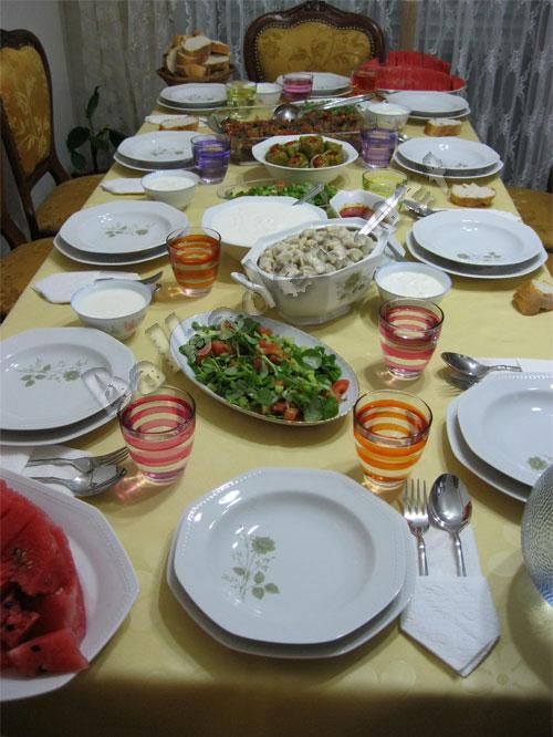 İzmir'de Akşam Yemeği