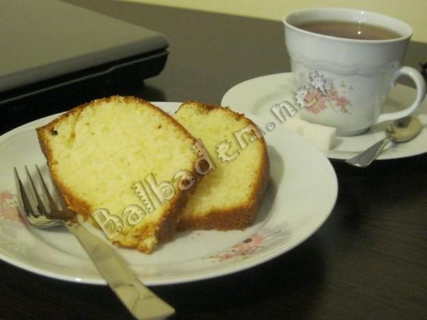 Krem Şantili Limonlu Kek