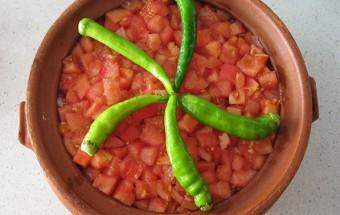 Fırında Patlıcanlı Göveç