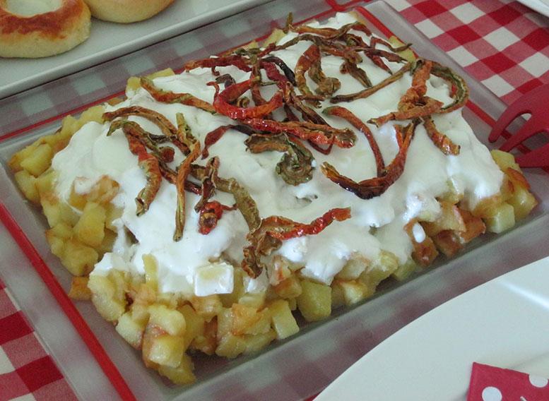 Yoğurtlu Patates