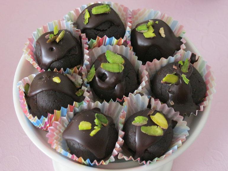 Çikolata Kaplı Misket Toplar