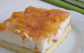 Şeftalili Yaz Pastası