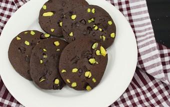 Antep Fıstıklı Çikolatalı Kurabiye